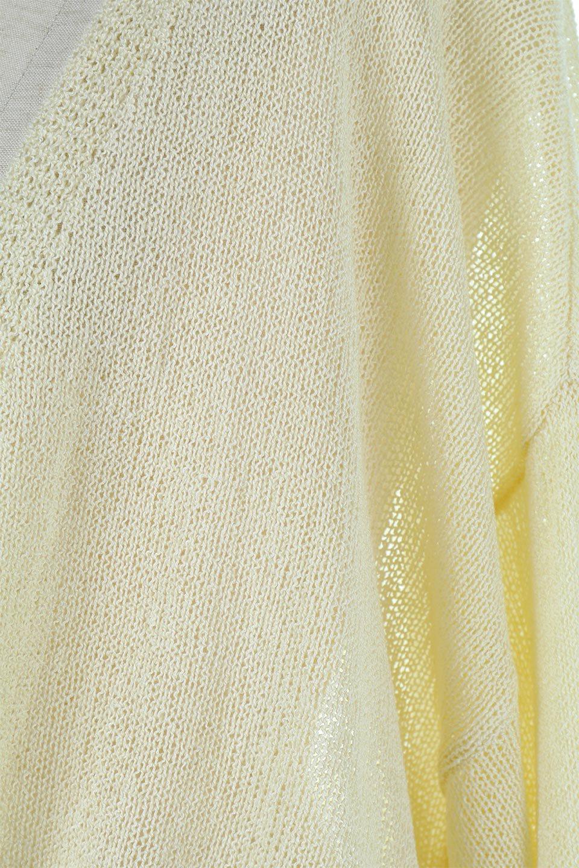 DolmanSleeveShearLoseKnitCardiganドルマンスリーブ・シアーニットカーディガン大人カジュアルに最適な海外ファッションのothers(その他インポートアイテム)のアウターやカーディガン。程よい透け感とゆったりとしたルーズなシルエットが魅力のニットカーディガン。やや長めの着丈と、ドルマンスリーブが体型カバーをしつつ、身体のラインを美しく見せてくれます。/main-18