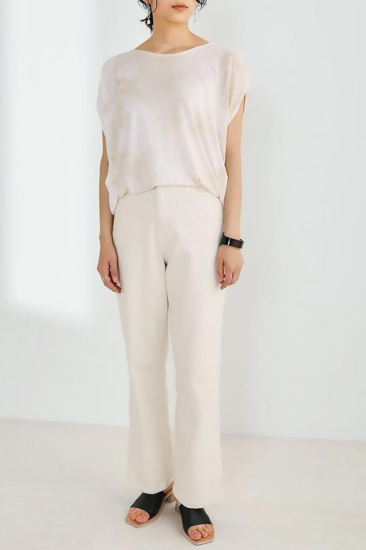 TieDyeDrapedTopタイダイ染・ルーズTシャツ大人カジュアルに最適な海外ファッションのothers(その他インポートアイテム)のトップスやカットソー。ポリエステル×レーヨンのてろんとした素材感が嬉しいタイダイ染めのTシャツ。ぼんやりとした優しいカラーリングで、派手すぎずに使いやすいトップス。/main-27