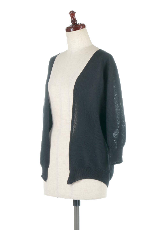 SeamlessShortCardigansホールガーメント・ショートカーディガン大人カジュアルに最適な海外ファッションのothers(その他インポートアイテム)のアウターやカーディガン。服の状態で編み上げるホールガーメント製法を用いたシームレス(無縫製)のカーディガン。縫い目が無いので、ノースリーブなどお肌が直接触れる部分が多い季節でも、チクチクを軽減してくれます。/main-11