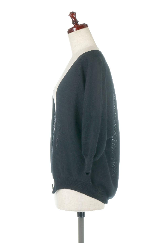 SeamlessShortCardigansホールガーメント・ショートカーディガン大人カジュアルに最適な海外ファッションのothers(その他インポートアイテム)のアウターやカーディガン。服の状態で編み上げるホールガーメント製法を用いたシームレス(無縫製)のカーディガン。縫い目が無いので、ノースリーブなどお肌が直接触れる部分が多い季節でも、チクチクを軽減してくれます。/main-12