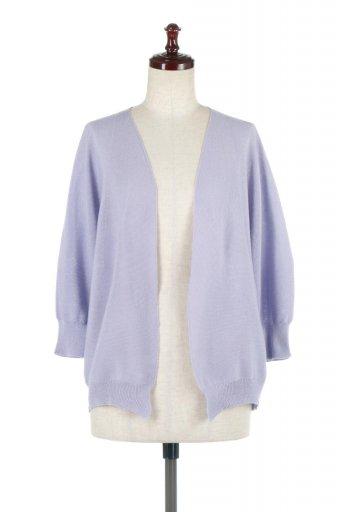 海外ファッションや大人カジュアルに最適なインポートセレクトアイテムのSeamless Short Cardigans ホールガーメント・ ショートカーディガン