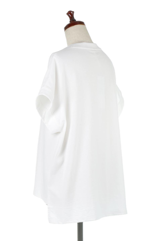 FrenchSleevePullOverTeeフレンチスリーブ・Tシャツ大人カジュアルに最適な海外ファッションのothers(その他インポートアイテム)のトップスやTシャツ。シンプルでつい着たくなる素材とシルエットが自慢のTシャツ。身体のラインをひろいづらい、しっかりとした中肉の暑さの安心カットソー生地のアイテムです。/main-13