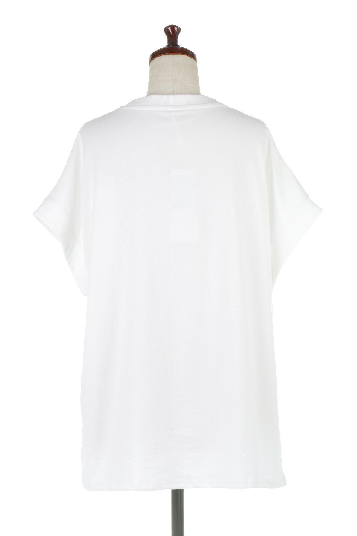 FrenchSleevePullOverTeeフレンチスリーブ・Tシャツ大人カジュアルに最適な海外ファッションのothers(その他インポートアイテム)のトップスやTシャツ。シンプルでつい着たくなる素材とシルエットが自慢のTシャツ。身体のラインをひろいづらい、しっかりとした中肉の暑さの安心カットソー生地のアイテムです。/main-14