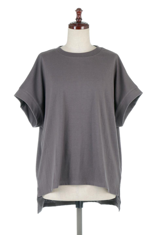 FrenchSleevePullOverTeeフレンチスリーブ・Tシャツ大人カジュアルに最適な海外ファッションのothers(その他インポートアイテム)のトップスやTシャツ。シンプルでつい着たくなる素材とシルエットが自慢のTシャツ。身体のラインをひろいづらい、しっかりとした中肉の暑さの安心カットソー生地のアイテムです。/main-15
