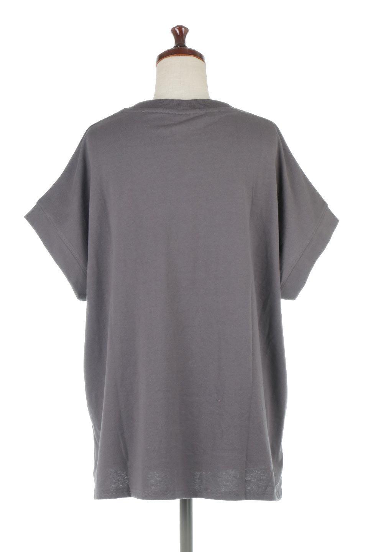 FrenchSleevePullOverTeeフレンチスリーブ・Tシャツ大人カジュアルに最適な海外ファッションのothers(その他インポートアイテム)のトップスやTシャツ。シンプルでつい着たくなる素材とシルエットが自慢のTシャツ。身体のラインをひろいづらい、しっかりとした中肉の暑さの安心カットソー生地のアイテムです。/main-19