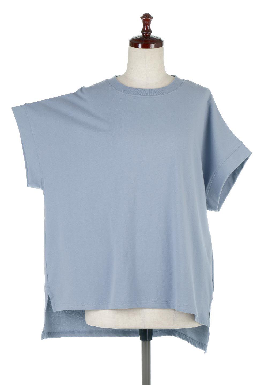 FrenchSleevePullOverTeeフレンチスリーブ・Tシャツ大人カジュアルに最適な海外ファッションのothers(その他インポートアイテム)のトップスやTシャツ。シンプルでつい着たくなる素材とシルエットが自慢のTシャツ。身体のラインをひろいづらい、しっかりとした中肉の暑さの安心カットソー生地のアイテムです。/main-20