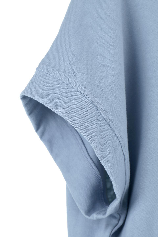 FrenchSleevePullOverTeeフレンチスリーブ・Tシャツ大人カジュアルに最適な海外ファッションのothers(その他インポートアイテム)のトップスやTシャツ。シンプルでつい着たくなる素材とシルエットが自慢のTシャツ。身体のラインをひろいづらい、しっかりとした中肉の暑さの安心カットソー生地のアイテムです。/main-24