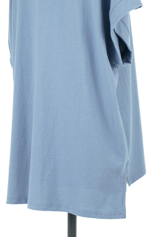FrenchSleevePullOverTeeフレンチスリーブ・Tシャツ大人カジュアルに最適な海外ファッションのothers(その他インポートアイテム)のトップスやTシャツ。シンプルでつい着たくなる素材とシルエットが自慢のTシャツ。身体のラインをひろいづらい、しっかりとした中肉の暑さの安心カットソー生地のアイテムです。/main-26