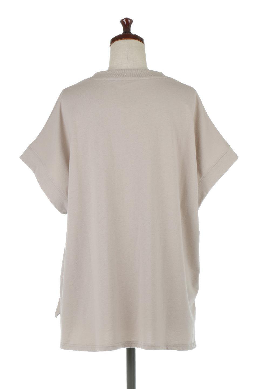FrenchSleevePullOverTeeフレンチスリーブ・Tシャツ大人カジュアルに最適な海外ファッションのothers(その他インポートアイテム)のトップスやTシャツ。シンプルでつい着たくなる素材とシルエットが自慢のTシャツ。身体のラインをひろいづらい、しっかりとした中肉の暑さの安心カットソー生地のアイテムです。/main-4