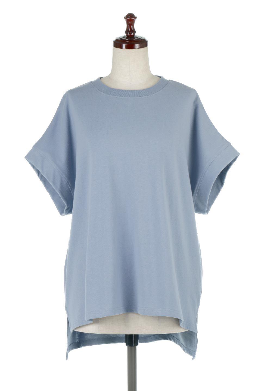 FrenchSleevePullOverTeeフレンチスリーブ・Tシャツ大人カジュアルに最適な海外ファッションのothers(その他インポートアイテム)のトップスやTシャツ。シンプルでつい着たくなる素材とシルエットが自慢のTシャツ。身体のラインをひろいづらい、しっかりとした中肉の暑さの安心カットソー生地のアイテムです。/main-5