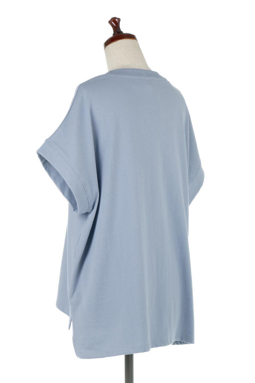 FrenchSleevePullOverTeeフレンチスリーブ・Tシャツ大人カジュアルに最適な海外ファッションのothers(その他インポートアイテム)のトップスやTシャツ。シンプルでつい着たくなる素材とシルエットが自慢のTシャツ。身体のラインをひろいづらい、しっかりとした中肉の暑さの安心カットソー生地のアイテムです。/main-8