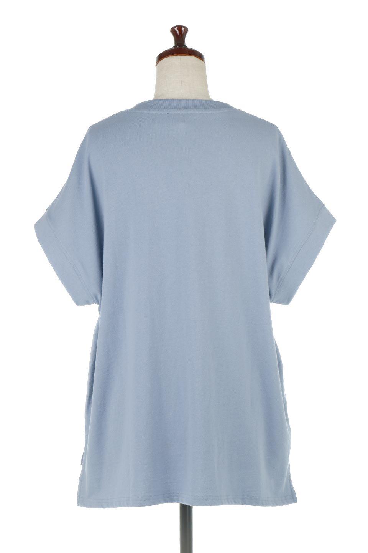 FrenchSleevePullOverTeeフレンチスリーブ・Tシャツ大人カジュアルに最適な海外ファッションのothers(その他インポートアイテム)のトップスやTシャツ。シンプルでつい着たくなる素材とシルエットが自慢のTシャツ。身体のラインをひろいづらい、しっかりとした中肉の暑さの安心カットソー生地のアイテムです。/main-9