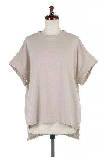 French Sleeve Pull Over Tee フレンチスリーブ・Tシャツ / 大人カジュアルに最適な海外ファッションが得意な福島市のセレクトショップbloom