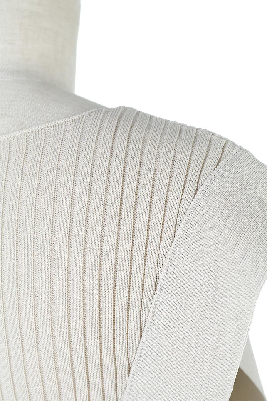 SquareFrenchSleeveTopスクエアフレンチスリーブ・リブトップス大人カジュアルに最適な海外ファッションのothers(その他インポートアイテム)のトップスやカットソー。袖のデザインが印象的なリブトップス。首元や裾は縫い目の無いシームレスな作りで、すっきり見えるシルエット。/main-17