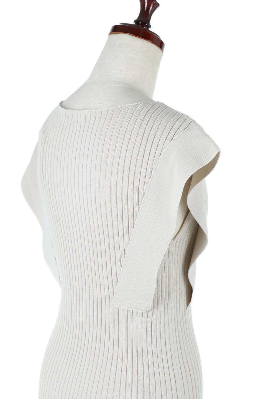 SquareFrenchSleeveTopスクエアフレンチスリーブ・リブトップス大人カジュアルに最適な海外ファッションのothers(その他インポートアイテム)のトップスやカットソー。袖のデザインが印象的なリブトップス。首元や裾は縫い目の無いシームレスな作りで、すっきり見えるシルエット。/main-18