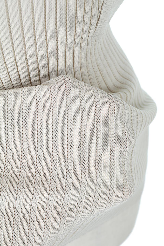 SquareFrenchSleeveTopスクエアフレンチスリーブ・リブトップス大人カジュアルに最適な海外ファッションのothers(その他インポートアイテム)のトップスやカットソー。袖のデザインが印象的なリブトップス。首元や裾は縫い目の無いシームレスな作りで、すっきり見えるシルエット。/main-22