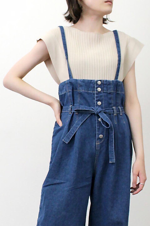 SquareFrenchSleeveTopスクエアフレンチスリーブ・リブトップス大人カジュアルに最適な海外ファッションのothers(その他インポートアイテム)のトップスやカットソー。袖のデザインが印象的なリブトップス。首元や裾は縫い目の無いシームレスな作りで、すっきり見えるシルエット。/main-25