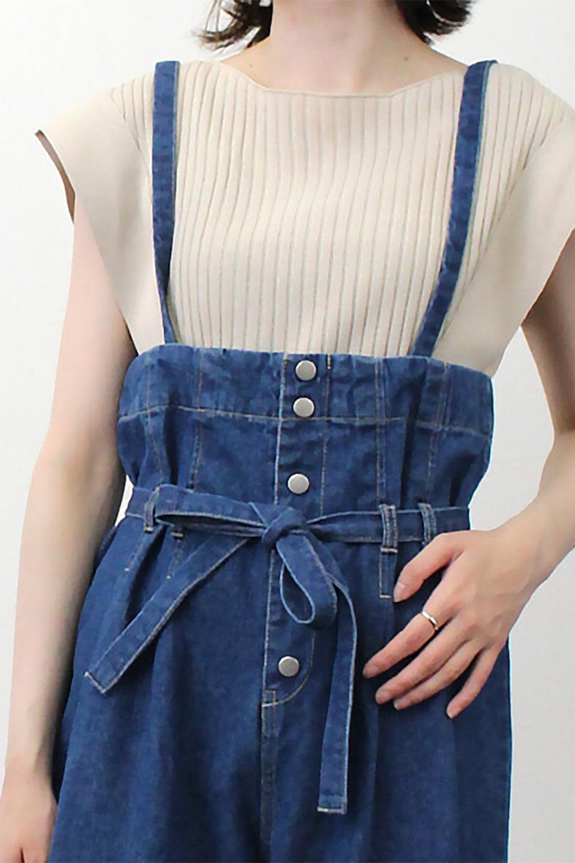 SquareFrenchSleeveTopスクエアフレンチスリーブ・リブトップス大人カジュアルに最適な海外ファッションのothers(その他インポートアイテム)のトップスやカットソー。袖のデザインが印象的なリブトップス。首元や裾は縫い目の無いシームレスな作りで、すっきり見えるシルエット。/main-26