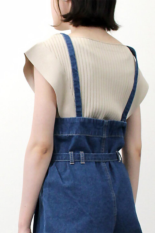 SquareFrenchSleeveTopスクエアフレンチスリーブ・リブトップス大人カジュアルに最適な海外ファッションのothers(その他インポートアイテム)のトップスやカットソー。袖のデザインが印象的なリブトップス。首元や裾は縫い目の無いシームレスな作りで、すっきり見えるシルエット。/main-27