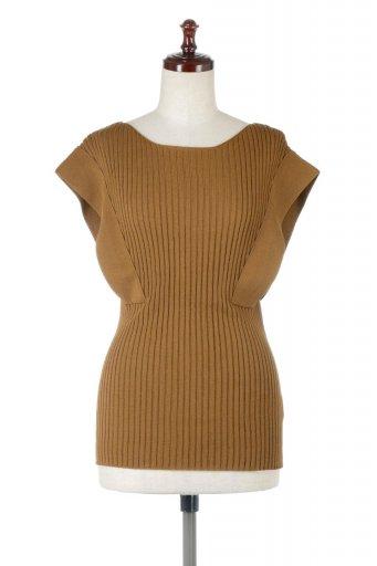 Square French Sleeve Top スクエアフレンチスリーブ・リブトップス / 大人カジュアルに最適な海外ファッションが得意な福島市のセレクトショップbloom