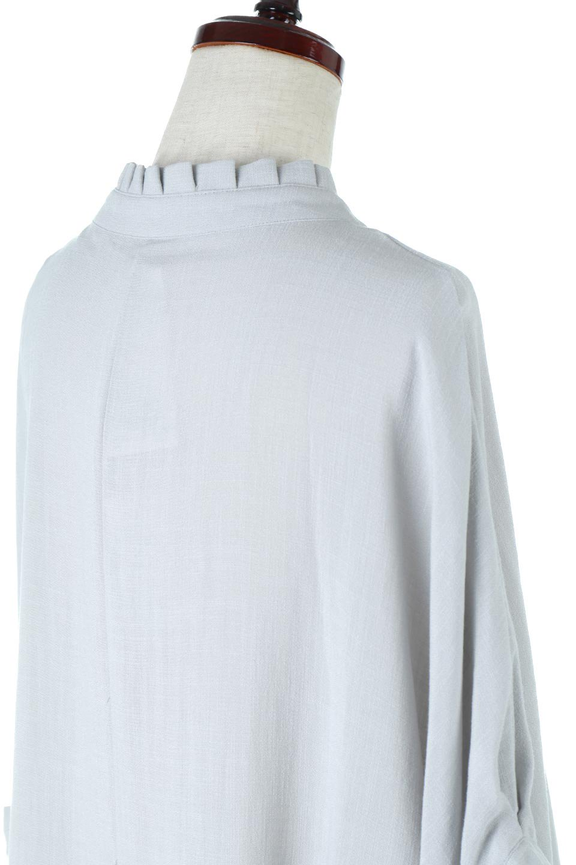 TuckedDolmanSleeveBlouseタックデザイン・ドルマンブラウス大人カジュアルに最適な海外ファッションのothers(その他インポートアイテム)のトップスやシャツ・ブラウス。ボックス型のタックデザインが可愛いソフトタッチの肌触りのブラウス。麻調のしっとりとした落ち感のある生地は袖口のタックのボリュームを綺麗に見せてくれます。/main-11