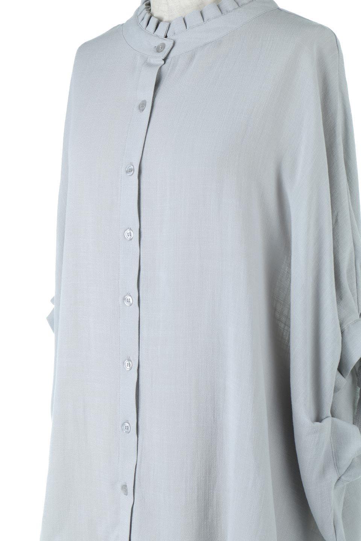 TuckedDolmanSleeveBlouseタックデザイン・ドルマンブラウス大人カジュアルに最適な海外ファッションのothers(その他インポートアイテム)のトップスやシャツ・ブラウス。ボックス型のタックデザインが可愛いソフトタッチの肌触りのブラウス。麻調のしっとりとした落ち感のある生地は袖口のタックのボリュームを綺麗に見せてくれます。/main-13