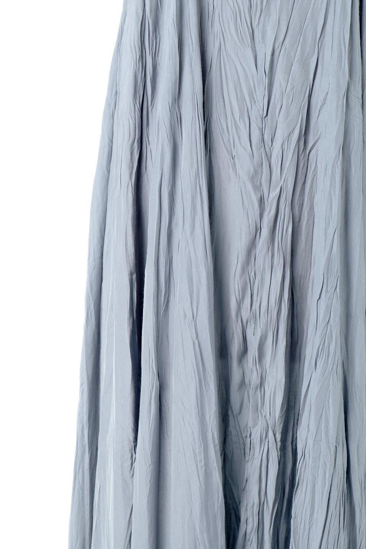WasherLongCamiDressワッシャー・キャミワンピース大人カジュアルに最適な海外ファッションのothers(その他インポートアイテム)のワンピースやマキシワンピース。肩紐で長さが調整できるシンプルなキャミソールワンピース。生地にワッシャー加工というシワになる加工を施した、軽やかで抜け感のあるワンピースです。/main-11