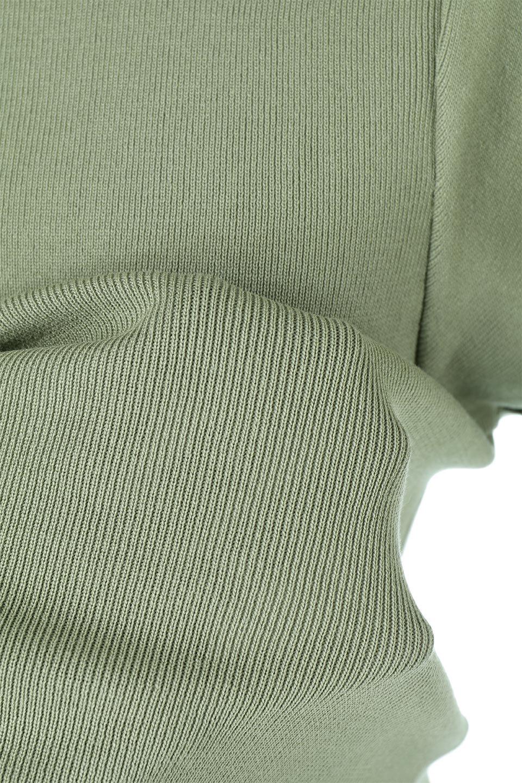 FrillSleeveKnitTopフリルスリーブ・半袖ニットトップス大人カジュアルに最適な海外ファッションのothers(その他インポートアイテム)のトップスやカットソー。袖の立体感のあるフリルスリーブが魅力の半袖ニットのカットソー。伸縮性とハリのあるニット素材なので体によくなじみ、肌触りも良く、着心地抜群のトップス。/main-15