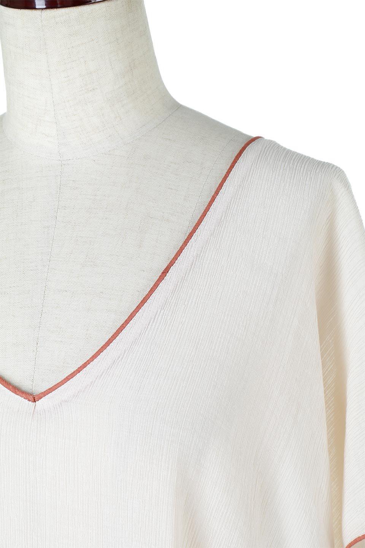 PipingHemChiffonKaftanDressシフォン生地・パイピングカフタンドレス大人カジュアルに最適な海外ファッションのothers(その他インポートアイテム)のワンピースやマキシワンピース。インナー次第でロングシーズン活躍するシアー素材のカフタンワンピース。肩の隠れる袖丈とゆったりとしたシルエットでストレス無く着られる1枚。/main-17