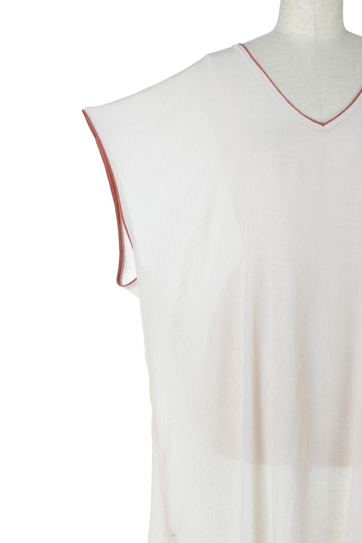 PipingHemChiffonKaftanDressシフォン生地・パイピングカフタンドレス大人カジュアルに最適な海外ファッションのothers(その他インポートアイテム)のワンピースやマキシワンピース。インナー次第でロングシーズン活躍するシアー素材のカフタンワンピース。肩の隠れる袖丈とゆったりとしたシルエットでストレス無く着られる1枚。/main-20