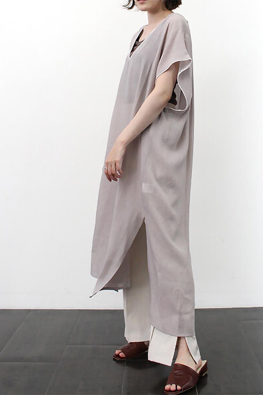 PipingHemChiffonKaftanDressシフォン生地・パイピングカフタンドレス大人カジュアルに最適な海外ファッションのothers(その他インポートアイテム)のワンピースやマキシワンピース。インナー次第でロングシーズン活躍するシアー素材のカフタンワンピース。肩の隠れる袖丈とゆったりとしたシルエットでストレス無く着られる1枚。/main-27