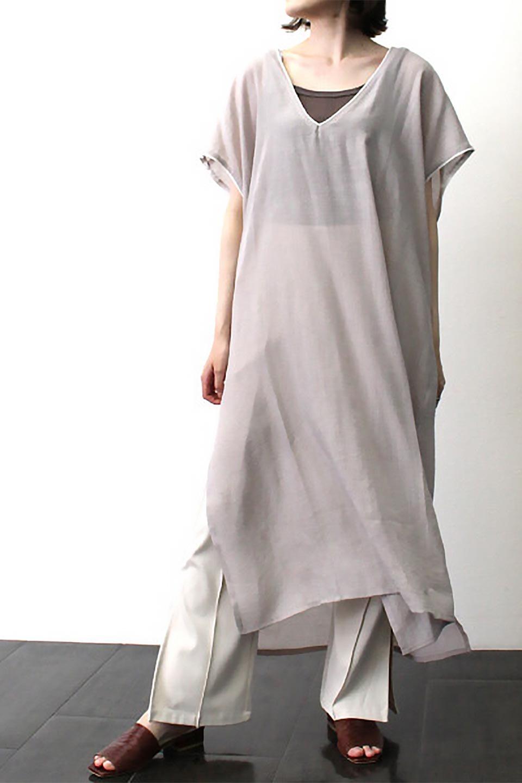 PipingHemChiffonKaftanDressシフォン生地・パイピングカフタンドレス大人カジュアルに最適な海外ファッションのothers(その他インポートアイテム)のワンピースやマキシワンピース。インナー次第でロングシーズン活躍するシアー素材のカフタンワンピース。肩の隠れる袖丈とゆったりとしたシルエットでストレス無く着られる1枚。/main-29