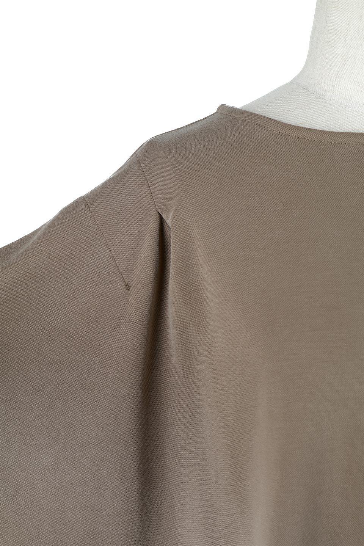 CocoonDesignWashedPullOverウォッシュ加工・コクーンプルオーバー大人カジュアルに最適な海外ファッションのothers(その他インポートアイテム)のトップスやカットソー。Tシャツのように気軽に使える、ドレープがきれいなカットソー。シルクのような滑らかさと光沢がある生地は見た目以上にしっかりしています。/main-19