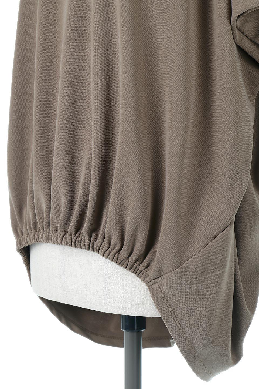 CocoonDesignWashedPullOverウォッシュ加工・コクーンプルオーバー大人カジュアルに最適な海外ファッションのothers(その他インポートアイテム)のトップスやカットソー。Tシャツのように気軽に使える、ドレープがきれいなカットソー。シルクのような滑らかさと光沢がある生地は見た目以上にしっかりしています。/main-20
