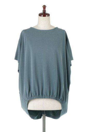Cocoon Design Washed Pull Over ウォッシュ加工・コクーンプルオーバー / 大人カジュアルに最適な海外ファッションが得意な福島市のセレクトショップbloom