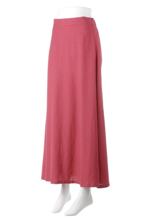 FrenchLinenSemiFlareSkirtフレンチリネン・セミフレアスカート大人カジュアルに最適な海外ファッションのothers(その他インポートアイテム)のボトムやスカート。こなれ感がある大人カジュアルにピッタリのリネン素材を使用したマキシスカート。バックベルトにのみゴム入りなのでウエストがスッキリ見えます。/main-1