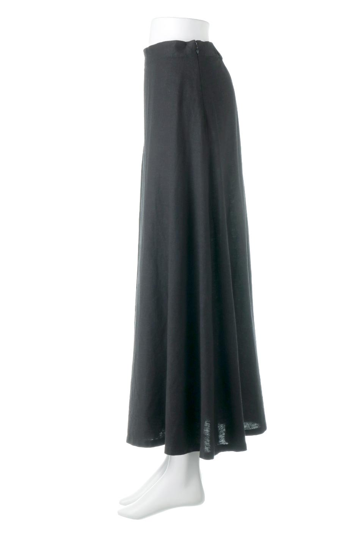 FrenchLinenSemiFlareSkirtフレンチリネン・セミフレアスカート大人カジュアルに最適な海外ファッションのothers(その他インポートアイテム)のボトムやスカート。こなれ感がある大人カジュアルにピッタリのリネン素材を使用したマキシスカート。バックベルトにのみゴム入りなのでウエストがスッキリ見えます。/main-12