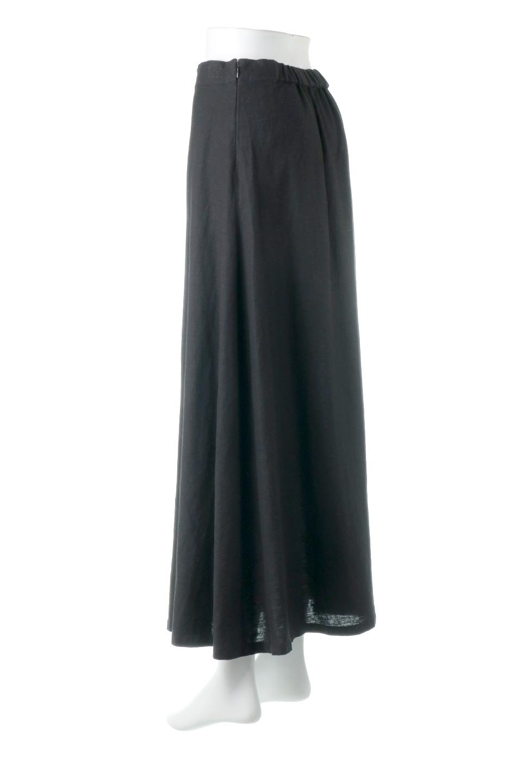 FrenchLinenSemiFlareSkirtフレンチリネン・セミフレアスカート大人カジュアルに最適な海外ファッションのothers(その他インポートアイテム)のボトムやスカート。こなれ感がある大人カジュアルにピッタリのリネン素材を使用したマキシスカート。バックベルトにのみゴム入りなのでウエストがスッキリ見えます。/main-13