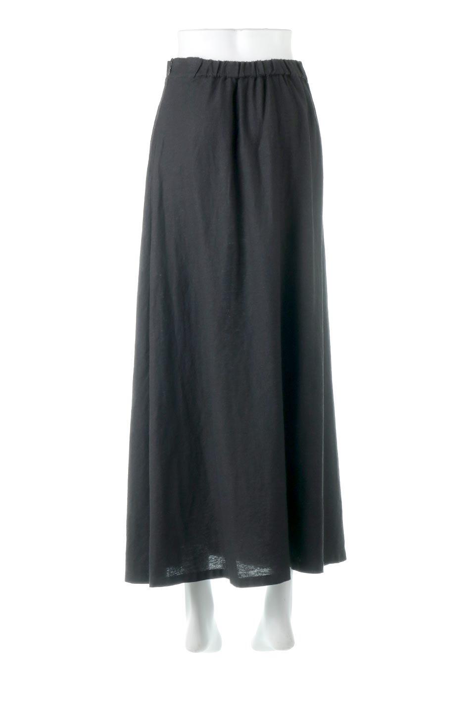 FrenchLinenSemiFlareSkirtフレンチリネン・セミフレアスカート大人カジュアルに最適な海外ファッションのothers(その他インポートアイテム)のボトムやスカート。こなれ感がある大人カジュアルにピッタリのリネン素材を使用したマキシスカート。バックベルトにのみゴム入りなのでウエストがスッキリ見えます。/main-14