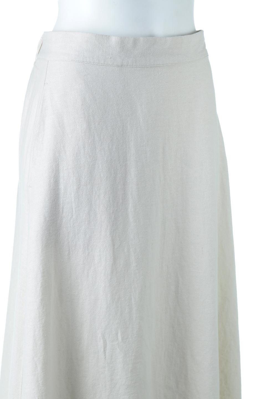 FrenchLinenSemiFlareSkirtフレンチリネン・セミフレアスカート大人カジュアルに最適な海外ファッションのothers(その他インポートアイテム)のボトムやスカート。こなれ感がある大人カジュアルにピッタリのリネン素材を使用したマキシスカート。バックベルトにのみゴム入りなのでウエストがスッキリ見えます。/main-15