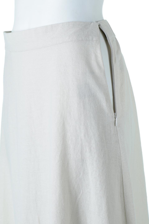 FrenchLinenSemiFlareSkirtフレンチリネン・セミフレアスカート大人カジュアルに最適な海外ファッションのothers(その他インポートアイテム)のボトムやスカート。こなれ感がある大人カジュアルにピッタリのリネン素材を使用したマキシスカート。バックベルトにのみゴム入りなのでウエストがスッキリ見えます。/main-18