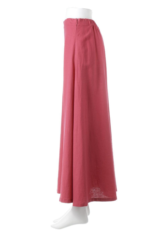 FrenchLinenSemiFlareSkirtフレンチリネン・セミフレアスカート大人カジュアルに最適な海外ファッションのothers(その他インポートアイテム)のボトムやスカート。こなれ感がある大人カジュアルにピッタリのリネン素材を使用したマキシスカート。バックベルトにのみゴム入りなのでウエストがスッキリ見えます。/main-2