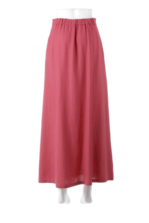 FrenchLinenSemiFlareSkirtフレンチリネン・セミフレアスカート大人カジュアルに最適な海外ファッションのothers(その他インポートアイテム)のボトムやスカート。こなれ感がある大人カジュアルにピッタリのリネン素材を使用したマキシスカート。バックベルトにのみゴム入りなのでウエストがスッキリ見えます。/main-4
