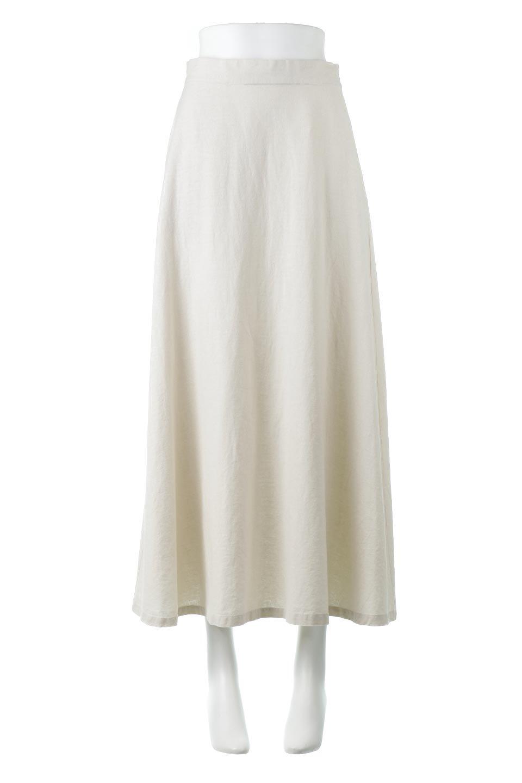 FrenchLinenSemiFlareSkirtフレンチリネン・セミフレアスカート大人カジュアルに最適な海外ファッションのothers(その他インポートアイテム)のボトムやスカート。こなれ感がある大人カジュアルにピッタリのリネン素材を使用したマキシスカート。バックベルトにのみゴム入りなのでウエストがスッキリ見えます。/main-5