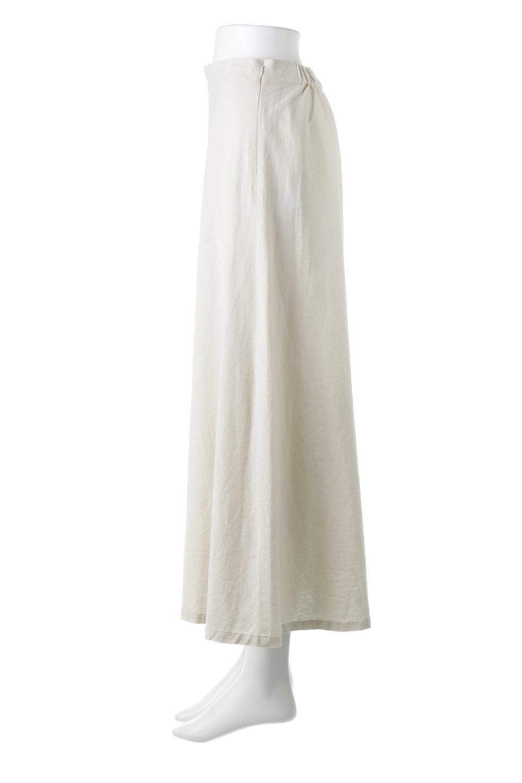 FrenchLinenSemiFlareSkirtフレンチリネン・セミフレアスカート大人カジュアルに最適な海外ファッションのothers(その他インポートアイテム)のボトムやスカート。こなれ感がある大人カジュアルにピッタリのリネン素材を使用したマキシスカート。バックベルトにのみゴム入りなのでウエストがスッキリ見えます。/main-7