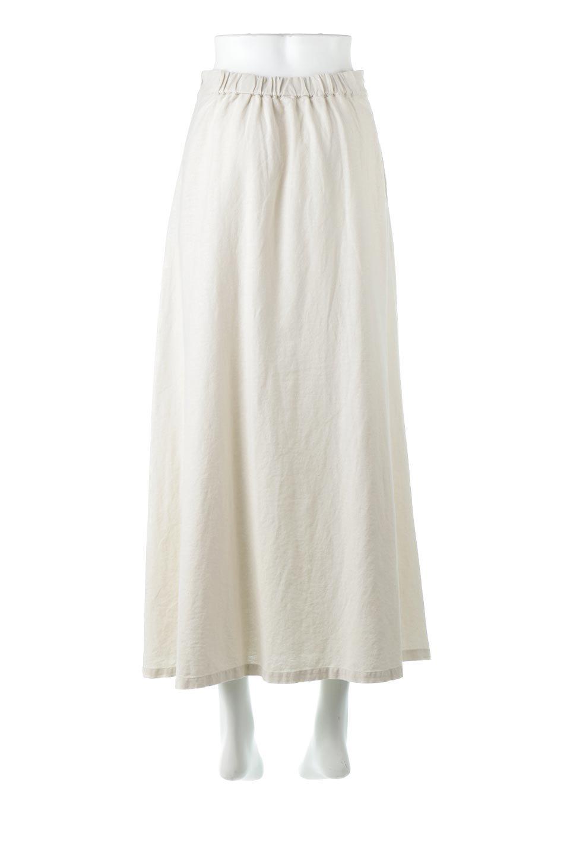 FrenchLinenSemiFlareSkirtフレンチリネン・セミフレアスカート大人カジュアルに最適な海外ファッションのothers(その他インポートアイテム)のボトムやスカート。こなれ感がある大人カジュアルにピッタリのリネン素材を使用したマキシスカート。バックベルトにのみゴム入りなのでウエストがスッキリ見えます。/main-9