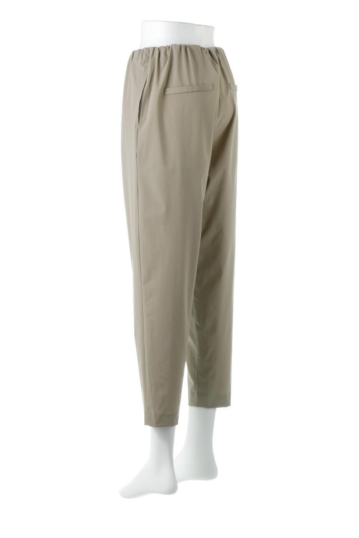 Anti-UVCoolTouchPants接触冷感+UV加工・テーパードパンツ大人カジュアルに最適な海外ファッションのothers(その他インポートアイテム)のボトムやパンツ。ウエストゴムでストレスフリーな履き心地のサラサラ触感のパンツ。ヒップもゆったりとゆとりをもたせているので下着のラインも気にならず、透け感もないので安心のアイテム。/main-3