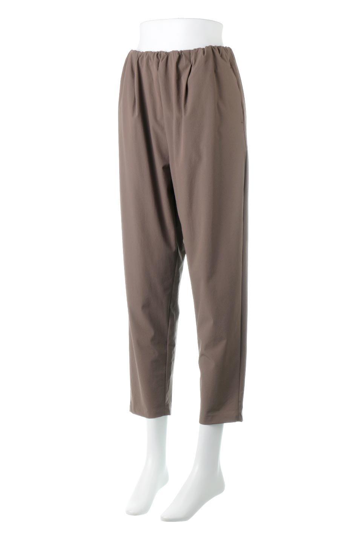 Anti-UVCoolTouchPants接触冷感+UV加工・テーパードパンツ大人カジュアルに最適な海外ファッションのothers(その他インポートアイテム)のボトムやパンツ。ウエストゴムでストレスフリーな履き心地のサラサラ触感のパンツ。ヒップもゆったりとゆとりをもたせているので下着のラインも気にならず、透け感もないので安心のアイテム。/main-6