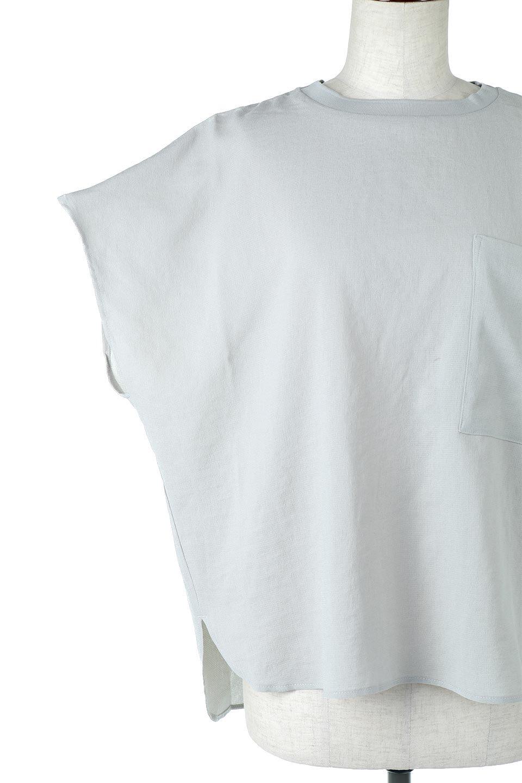 OverSizedBackGatherPullOverバックギャザー・オーバーTシャツ大人カジュアルに最適な海外ファッションのothers(その他インポートアイテム)のトップスやカットソー。ありそうでなかった麻のような質感が気持ち良い布帛生地のオーバーTシャツ。一見ビッグシルエットのTシャツのようですが、シャリっとした清涼感のあるタッチでシワになりにくい素材で、汗のべたつきも気になりにくいトップス。/main-27