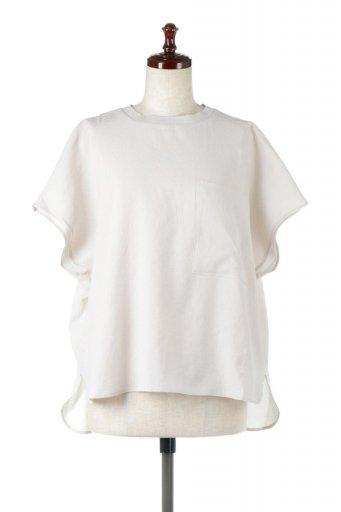 Over Sized Back Gather Pull Over バックギャザー・オーバーTシャツ / 大人カジュアルに最適な海外ファッションが得意な福島市のセレクトショップbloom